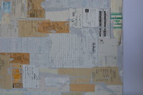 The Receipt Project (detail)